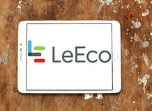 LeEco corporation logo. Logo of LeEco corporation on samsung tablet. LeEco is a Chinese multinational conglomerate corporation. The group maintains ventures in Royalty Free Stock Image