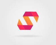 Logo Letter Icon Design Template-Elemente im Vektor Lizenzfreie Stockbilder