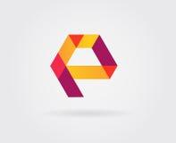 Logo Letter Icon Design Template-Elemente im Vektor Lizenzfreies Stockbild