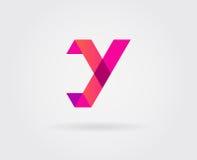 Logo Letter Icon Design Template-Elemente im Vektor Lizenzfreies Stockfoto