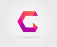 Logo Letter Icon Design Template-Elemente im Vektor Stockfoto