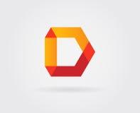 Logo Letter Icon Design Template-Elemente im Vektor Lizenzfreie Stockfotografie