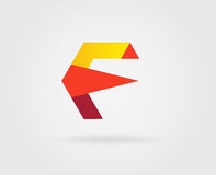 Logo Letter Icon Design Template-Elemente im Vektor Stockfotos