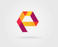 Logo Letter Icon Design Template Elements in Vector Royalty Free Stock Image