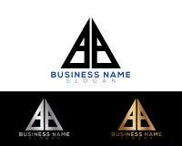 Logo Letters Photo libre de droits