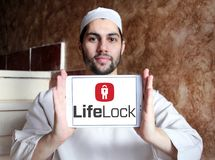 LifeLock company logo Royalty Free Stock Image