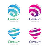 Logo - Liquid 02 Stock Photo