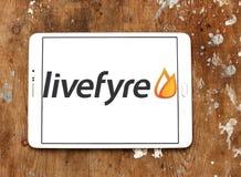 Livefyre company logo Royalty Free Stock Photo
