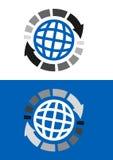 Logo logistique Photographie stock libre de droits