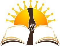 Logo lumineux d'éducation Photo stock