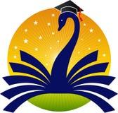 Logo lumineux d'éducation illustration de vecteur