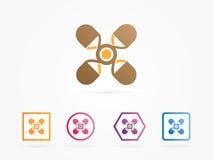 Logo médical d'illustration de vecteur Photo libre de droits
