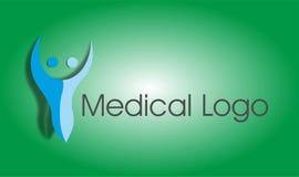 Logo médical de bien-être de forme physique Images stock