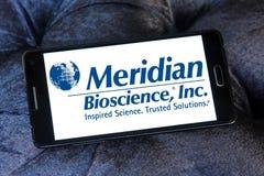 Logo méridien de société de biosciences photos libres de droits