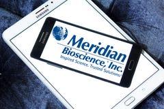 Logo méridien de société de biosciences photo libre de droits