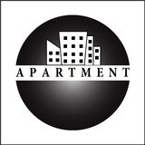 APARTMENT LOGO stock photos