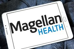 Magellan Health company logo Stock Photo