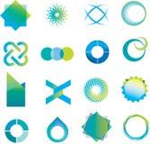 Logo marks and symbols Stock Photo