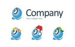 Logo and mascot stock photo