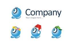 logo maskotka zdjęcie stock