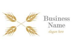 Logo med örat av vete Fotografering för Bildbyråer