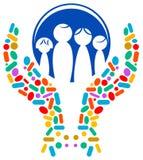 logo medyczny royalty ilustracja