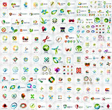 Logo mega collection Stock Photo