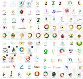Logo mega collection Stock Images