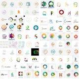 Logo mega collection Stock Photos