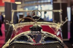 Logo Mersedes-Benz of a car Royalty Free Stock Photography