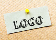 Logo Message Stock Image