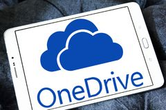 OneDrive logo Stock Images