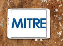 Mitre Corporation logo Stock Image