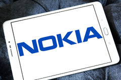 Nokia logo Royalty Free Stock Images