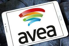 Logo mobile de télécommunication d'Avea Image stock