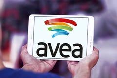 Logo mobile de télécommunication d'Avea Photos stock