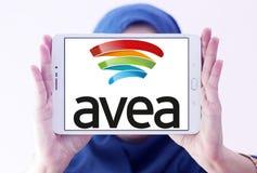 Logo mobile de télécommunication d'Avea Photo stock