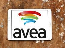 Logo mobile de télécommunication d'Avea Images libres de droits
