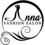 Logo moda Zdjęcia Royalty Free