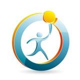 Logo moderne Photo libre de droits