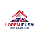 Logo moderne d'entretien Image stock