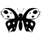 Logo moderne simple de papillon Photos libres de droits