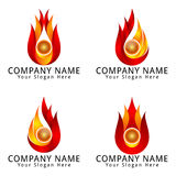 Logo moderno di concetto di energia Immagine Stock Libera da Diritti