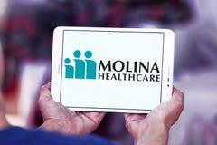 Molina Healthcare company. Logo of Molina Healthcare on samsung tablet. Molina Healthcare is a managed care company. The company provides health insurance to Royalty Free Stock Photography