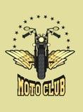 Logo moto club Stock Images