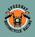 Logo moto club Stock Photo