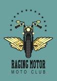Logo moto club Royalty Free Stock Photos
