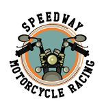 Logo moto club Royalty Free Stock Images