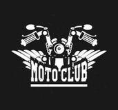 Logo moto club Royalty Free Stock Photo