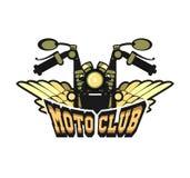 Logo moto club Royalty Free Stock Images